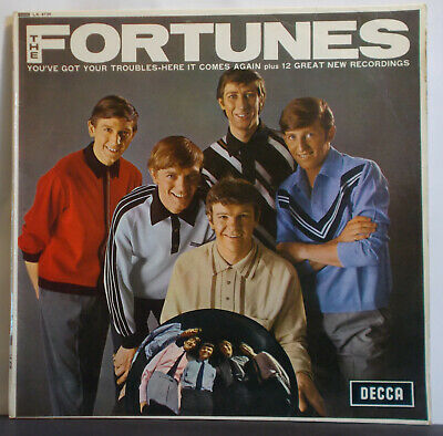 THE FORTUNES -S/T- Original UK Mono LP - Unboxed Decca Beat Merseybeat Brumbeat