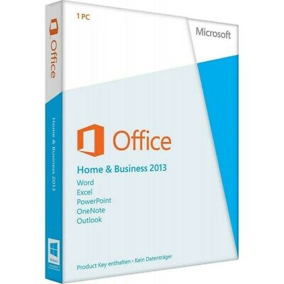 Microsoft Office Home & Business 2013 Vollversion Produktkey Blitzversand