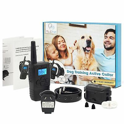 Dog Training Collar with Remote 100% Waterproof Rechargeable Anti Bark