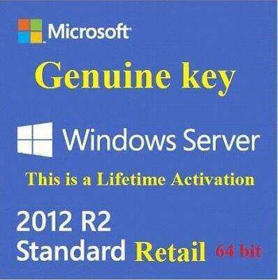 Windows Server 2012 R2 Standard Product key🔑  fast delivery✔