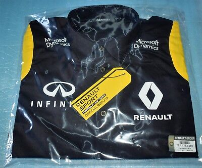 Long Sleeve Shirt Renault Sport Formula One Team Replica F1 New Size XL