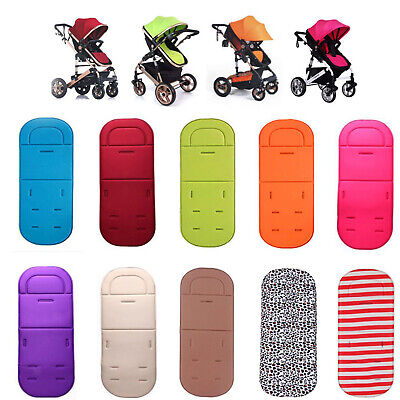 Baby Kids Washable Stroller Pram Pushchair Car Seat Liner Pad Mat Soft Cushion