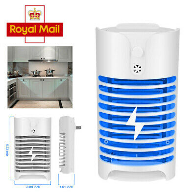 Electric UV Mosquito Killer Insect Fly Bug Pest Plug in Trap Zapper Lamp Indoor