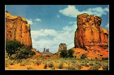 Dr Jim Stamps Us Gateway To Monument Valley Northern Arizona Postcard