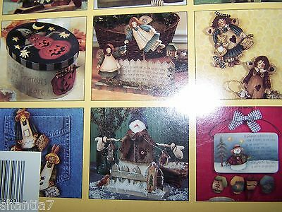 Buzzy Bees Garden Angels & More By Cindy Mann 1998 Plaid 18 Projects Angels Tole