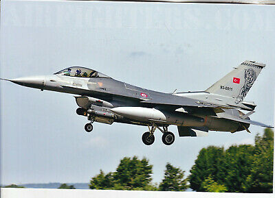 Org  picture:    F-16 Fighting Falcon  Turkish Air Force