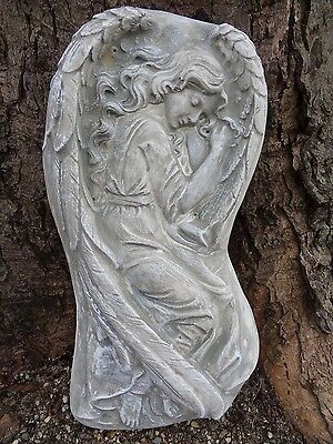 "Angel Poly Plastic concrete plaster mold mould 15"" x 7.75"" x 1.75"" thick"