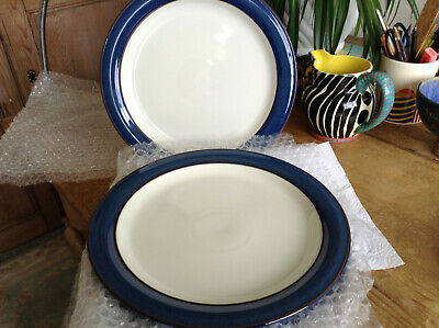 "4 x 10.5"" Denby Imperial or Boston Blue Dinner Plates"