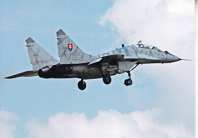 Org  picture:   Mig-29 Slovenian Air Force