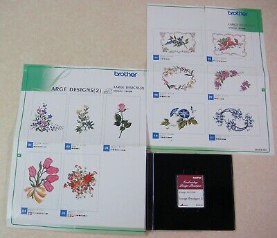 Brother Embroidery Design Boutique Memory Card #331036 Large Designs 2 EDB36