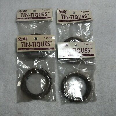 DC&C Rusty Tin-Tiques craft supplies 22 gauge 30 foot wire New 4 packages