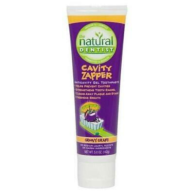 Natural Dentist Zapper Toothpaste For Kids Cavity Buster Grape  - 5 Oz./142 g