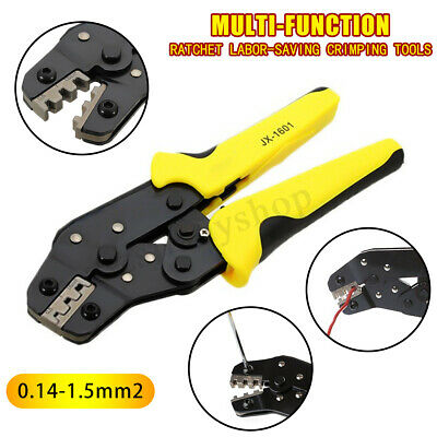 Crimper Insulated Terminal Wire Ferrule Plier Cable Ratchet Crimping Tool