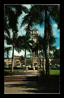 Dr Jim Stamps Us University Puerto Rico Campus Roosevelt Tower View Postcard