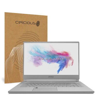 Celicious Vivid MSI P65 Creator 8RE Invisible Screen Protector [Pack of 2]