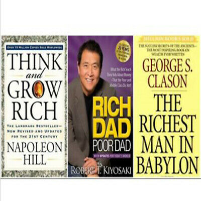 Rich Dad Poor Dad+The Richest Man in Babylon+Think and grow rich:PACK 3×1[P.D.F]