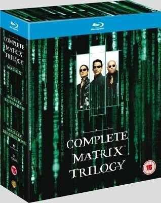 The Complete Matrix Trilogy (Blu-Ray Disc) BRAND NEW!!