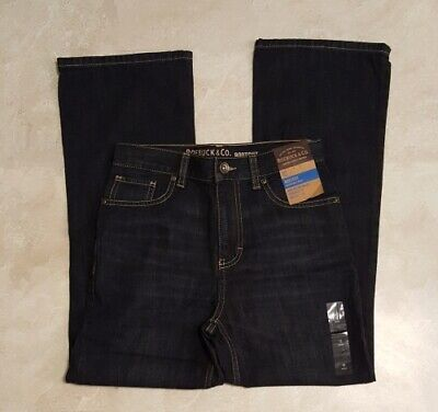 Boys New Roebuck & Co by Levis Dark Blue Jeans-Regular & Husky