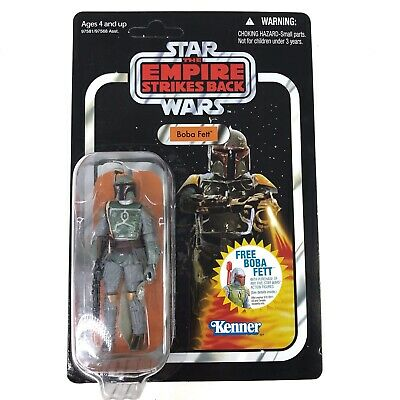 Star Wars Boba Fett Action Figure Unpunched Empire Strikes Back VC09 Vintage Col