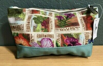 Disney Parks  mickey and seed company cosmetics bag flower & garden 2019. New.