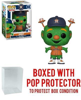 POP! Sports MLB Mascots Houston Astros, Orbit Action Figure (Bundled with Pop Bo