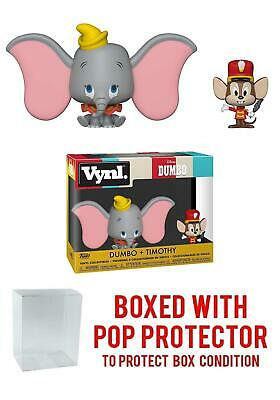 Pop! Vynl Disney: Dumbo + Timothy 2-Pack Vynl Figures (Includes Compatible Pop B