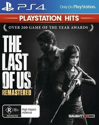 The Last of Us Remastered PS4 Playstation 4 Brand New Sealed