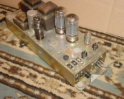 working 1974 vintage  Leslie  147  Amplifier ~6550 Tube Amp Hammond B3 organ 145