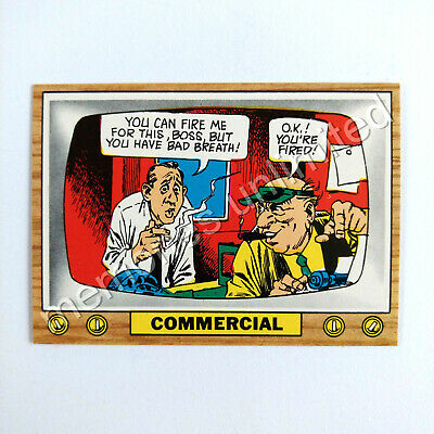 "1975 Scanlens TV PARODIES (CRAZY TV) ""COMMERCIAL"" Scanlen's Topps"