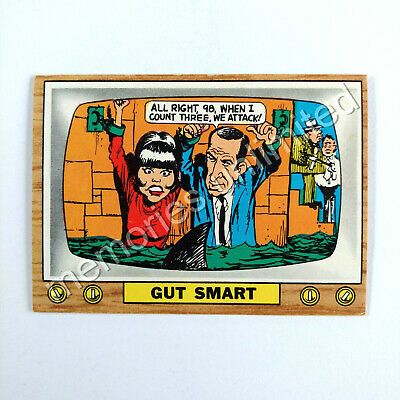"1975 Scanlens TV PARODIES (CRAZY TV) ""GUT SMART"" Scanlen's Topps"