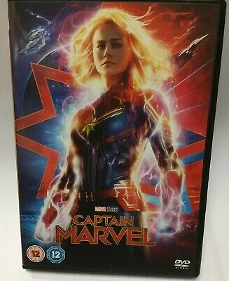 Captain Marvel [DVD] RELEASED 15/07/2019 Watched Once