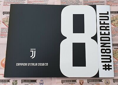 Folder Filatelico 2019 Juventus
