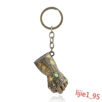 Avengers Infinity War Endgame Thanos Infinity Gauntlet Alloy Key Chains Keychain