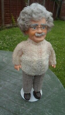 VINTAGE ALBERT EINSTEIN Doll 12