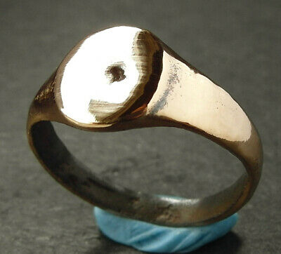 A genuine ancient Roman bronze ring - wearable