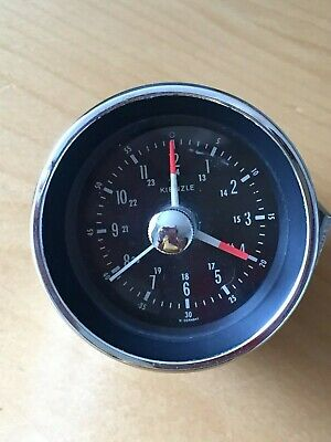 Vintage Kienzle Electric Car Clock 1970s