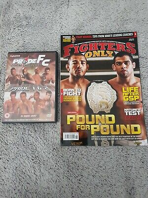 Fighters Only Magazine Pride Fc DVD