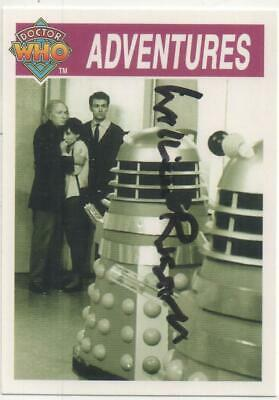 """Dr Who The DALEKS Card No.115 Auto by William Russell """"Ian Chesterton"""""""