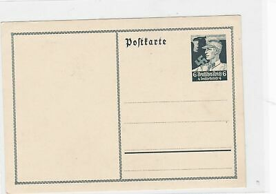 german 1930's unused stamps postcard Ref 9397