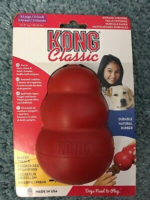 KONG Classic Dog Toy XL - Red