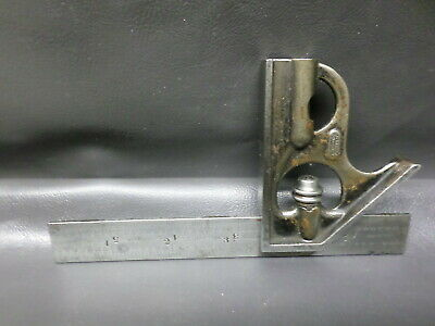 "L.s. Starrett Co. 6"" Combination Square - No. 4 Grad"