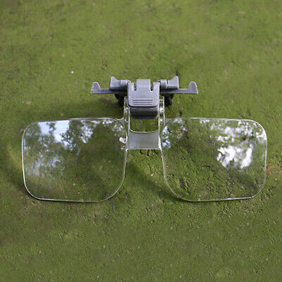 2X Magnifier Glasses Lightweight Magnifying Glass W/ Clip For Needlework Reading
