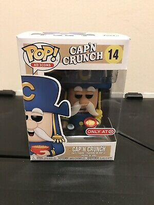 Funko POP! Ad Icons Cap N Crunch Target Exclusive Captain Crunch