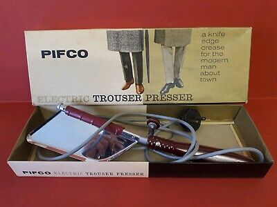 Pifco Vintage Electric Trouser Presser For the Modern Man About Town  Model 1111