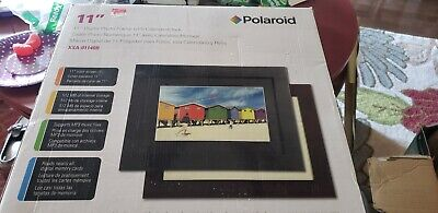 Polaroid 11 Inch Digital Photo Frame With Calendar And Clock