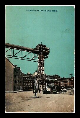 Dr Jim Stamps Katrina Lift Stockholm Sweden View Postcard