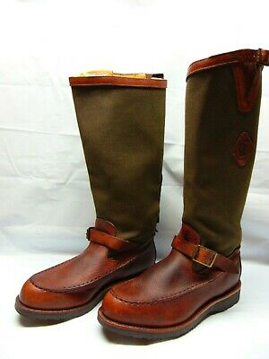67dccbc3fcd CHIPPEWA KING Ranch All Bull Hide Leather Snake Proof Mens 11 1/2 D ...