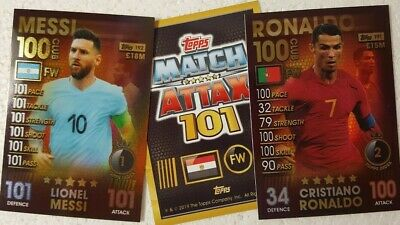 Topps MATCH ATTAX 101 Card Singles 100 CLUB & LEGENDS 2019