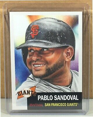 2019 Topps Living Set #204 Pablo Sandoval San Francisco Giants Print Run 2574