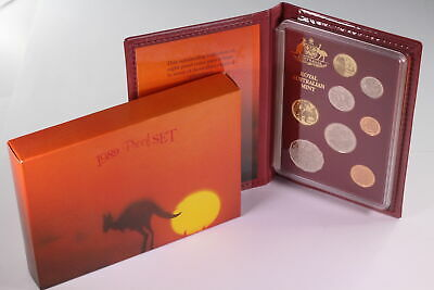 1989 Royal Australian Mint 6 Coin Proof Set D7-1476